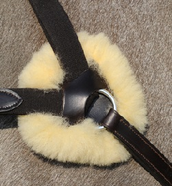 REPLACEABLE SHEEP SKIN FOR EVENTING